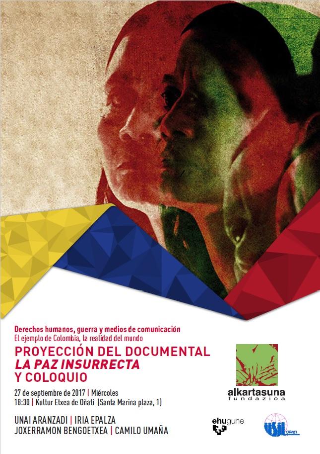 Colombia. Onati 27092017